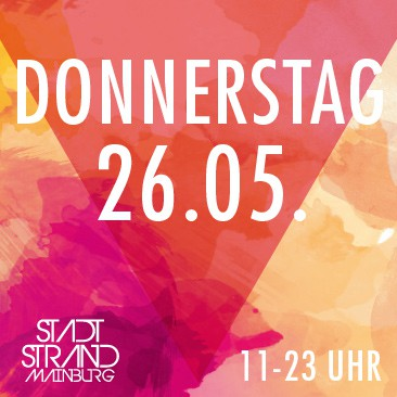Donnerstag 26.05.2016